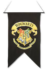 harry potter hogwarts banner