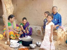 drop by for a meal at an adivasi pada