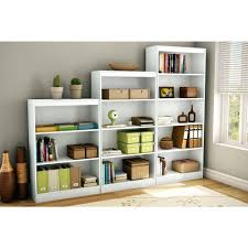 Shallow White Bookcase by Bookcase South Shore 4 Shelf Bookcase White 4 Shelf White