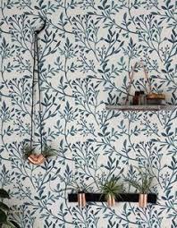lovely botanical wallpaper design by the paper partnership