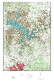 Normandy Map Mytopo Normandy Lake Tennessee Usgs Quad Topo Map
