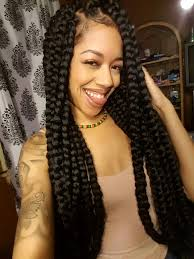 how many bags for big box braids 42 best big jumbo braids styles with images poetic justice jumbo