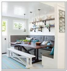 Kitchen Table With Built In Bench Kitchen Table With Bench Pleasing Kitchen Bench Seating Home
