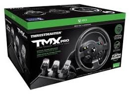 volante per xbox one thrustmaster 4461015 tmx pro racing wheel pedal set for xbox one