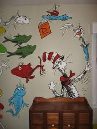 dr seuss bedroom ideas cat in the hat says hello in our baby s nursery our sensational