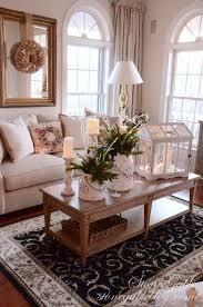 Christmas Decoration For Living Room Table Home For The Holidays Christmas House Tour Stonegable
