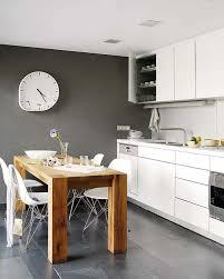 kitchen design breakfast bar swedish style minimalist kitchen design with rough wood table and