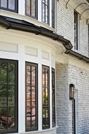 weeping mortar on bricks windows shell white duron sherwin