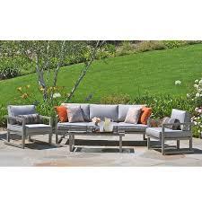 Patio Furniture Kelowna Kelowna Aluminum 4 Piece Patio Seating Set Sam U0027s Club For The