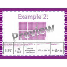 fractions to decimals powerpoint u0026 worksheet tenths u0026 hundredths