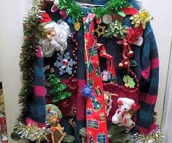iron maiden ugly christmas sweater