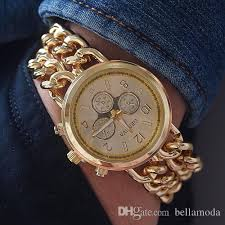 luxury bracelet watches images New geneva brand luxury gold watches men fashion designer jpg