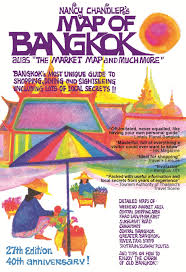 Bangkok Map Nancy Chandler U0027s Map Of Bangkok 27th Edition Amazon Co Uk Nima