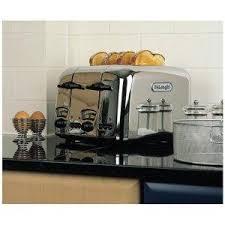 4 Slice Toaster Delonghi Delonghi Ct04c Argento 4 Slice Toaster Chrome Buy Online