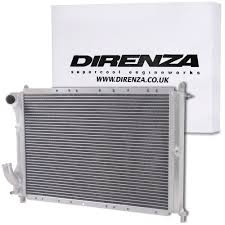direnza high flow aluminium alloy radiator for fiat coupe 2 0 20v
