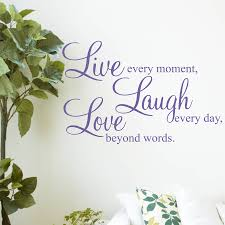 live laugh love wall stickers quotes by parkins interiors love wall stickers quotes shown in lavender