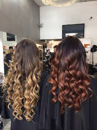Fabulous Nuance Two Nuance Blonde And Copper Red Shatush Evidenti Pinterest
