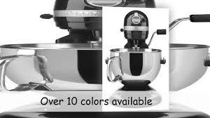 Black Kitchenaid Mixer by Kitchenaid Mixer 6 Qt Breville Mixer 5 Quart Diecast Stand Mixer