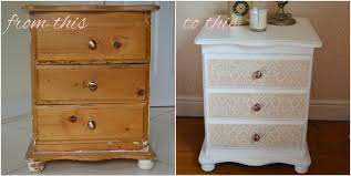 upcycle a bedside cabinet with paint