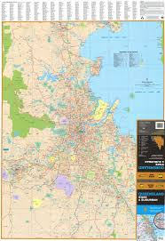 Map Of Queensland Queensland Ubd Map 690 X 1000mm Laminated