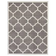 sweet home stores contemporary moroccan trellis gray 7 ft 10 in