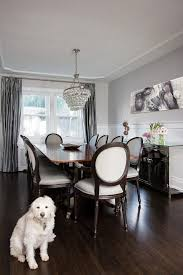 Dining Buffets And Sideboards Gray Buffets And Sideboards Dining Room Transitional With Drapery