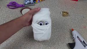 mummy crafts for halloween halloween mummy mason jars youtube