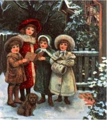 christmas images victorian carol singers wallpaper and background