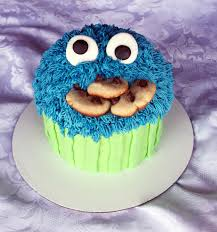 cookie monster cake story kay cake designs