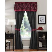 5 piece curtain sets better homes and gardens sylvan crest 5 piece curtain panel set