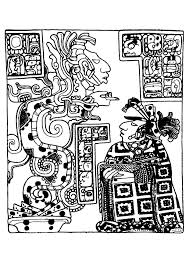 maya art british museum 5 mayans u0026 incas coloring pages for
