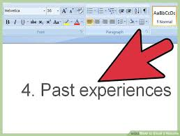 Sample Email When Sending Resume by How To Email A Resume With Pictures Wikihow