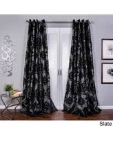 Silver Black Curtains Black And Silver Curtains Deals Sales At Shop Better Homes Gardens