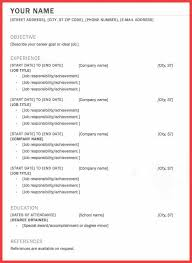Federal Job Resume Template One Job Resume Examples Resume Example And Free Resume Maker