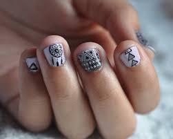 short nails get some art np na