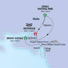 Road Map Of Alaska by Jewels Of Alaska Summer 2017 Insight Vacations