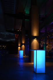 led furniture illuminated dpc event services