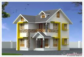 Front Elevations Of Indian Economy Houses by Below 1500 Sq Ft Keralahouseplanner