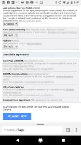 Chrome Flags Android Copyless Paste