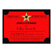pink gold sweet 16 party invitations u0026 announcements zazzle