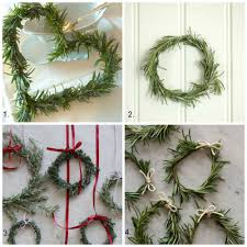 How To Make Wreaths How To Make A Rosemary Wreath Diy Decorator
