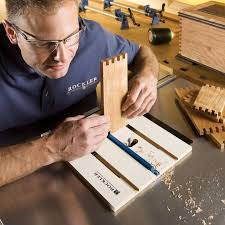 Woodworking Joints Router by Rockler Router Table Box Joint Jig Rockler Woodworking And Hardware