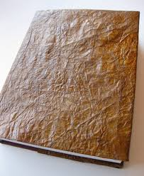 faux leather photo albums diy project paper leatherbound books design sponge