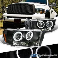 halo headlights for dodge ram 1500 dodge ram oem headlights ebay