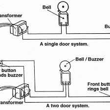 single doorbell wiring diagram wiring diagram and schematic