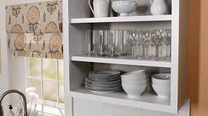 open kitchen cabinets with no doors how to convert kitchen cabinets to open shelving