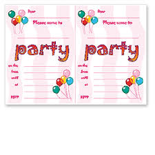 party invitations printable detail birthday party invitations