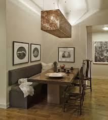 Banquette Dining Room Narrow Banquette Dining Set Dark Brown Granite Dining Table Dark