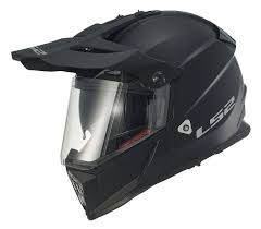 motocross helmet with face shield ls2 pioneer helmet solid revzilla