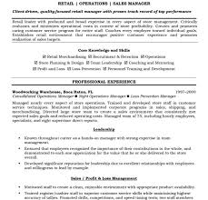 Resume Skills Examples Retail by Winsome Resume Examples For Retail 10 Samples Sample Profit And